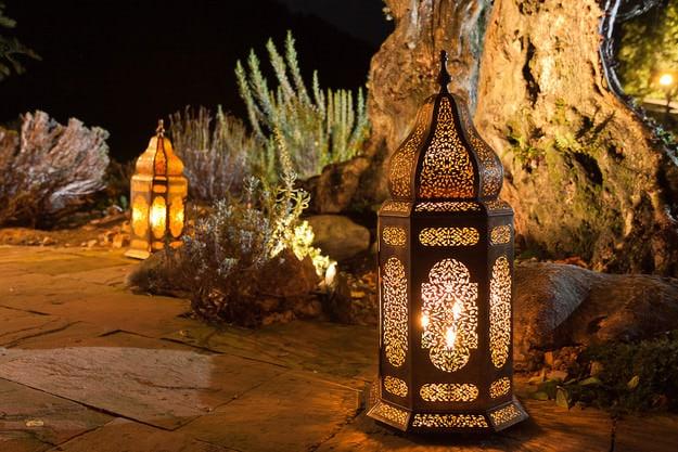 Und wieder Marokko – dieses Mal sind es die Lampen…
